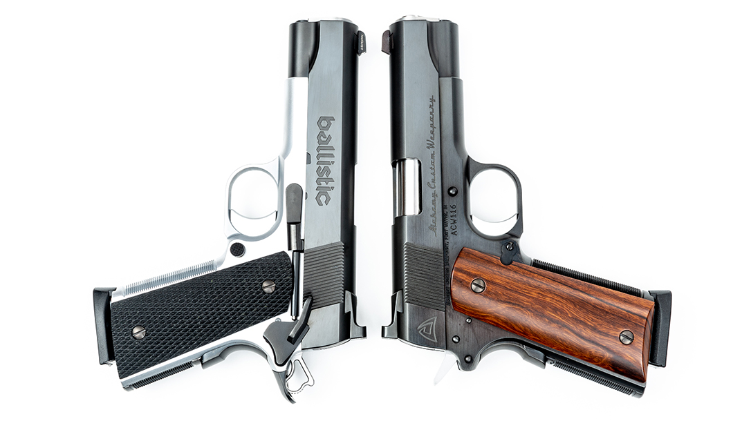 Alchemy Custom Weaponry, Alchemy Custom 1911, slide