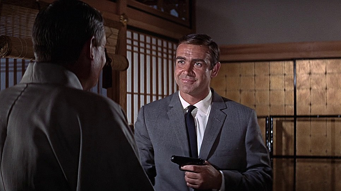 guns in movies, Walther PPK, James Bond