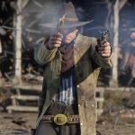 Red Dead Redemption 2 guns, revolvers