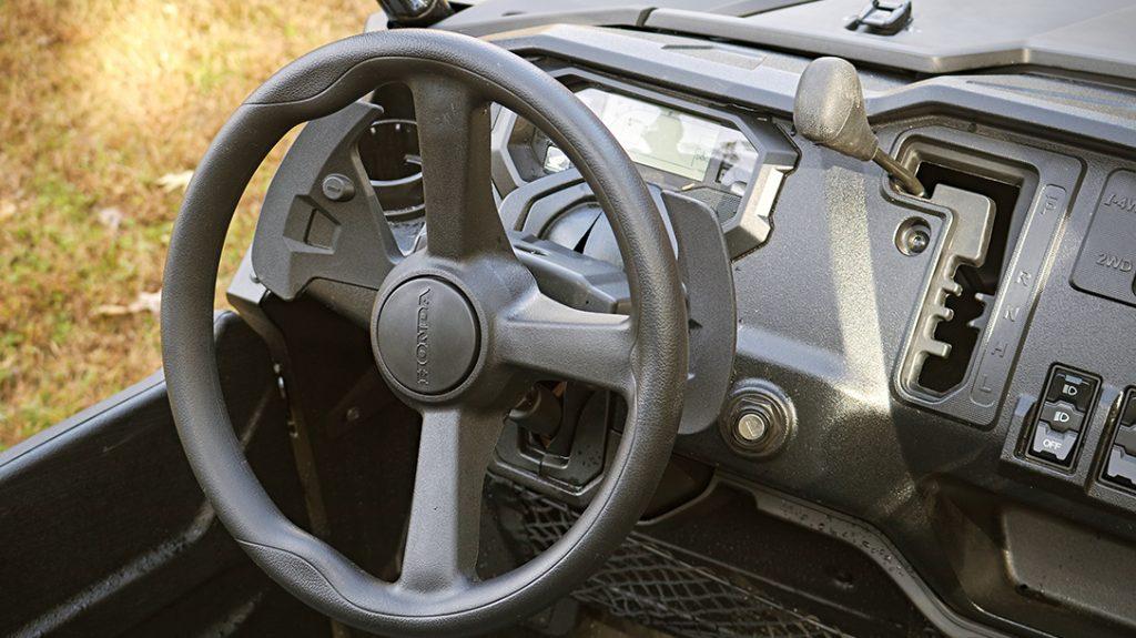 Steering wheel, atv LE