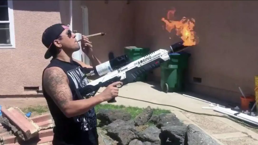 Flamethrower Ban