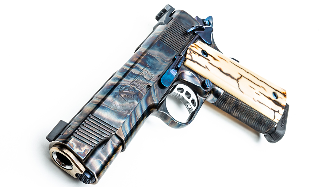 Republic Forge 1911, Tyler Gun Works, casehardening