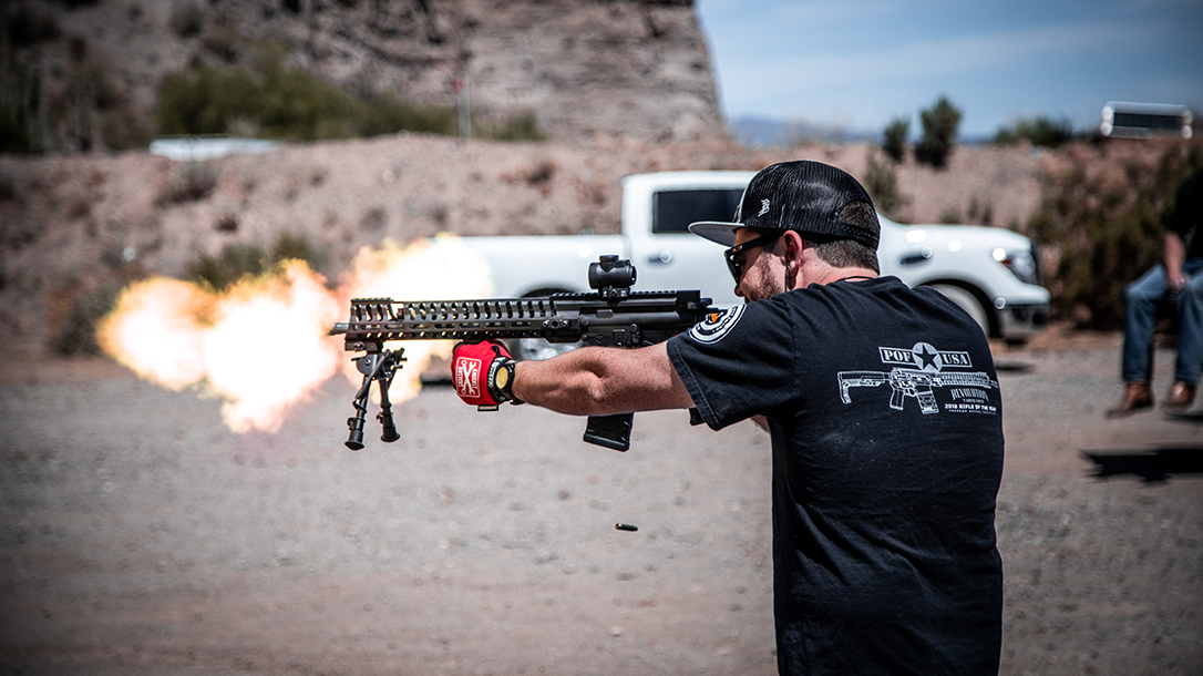 POF P415 Torture Test, Hornady Fronter Ammo, Giveaway, flame