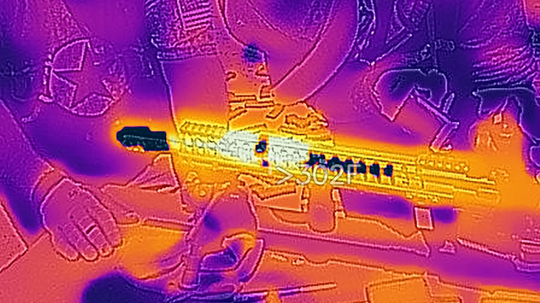POF P415 Torture Test, Hornady Fronter Ammo, Giveaway, heat