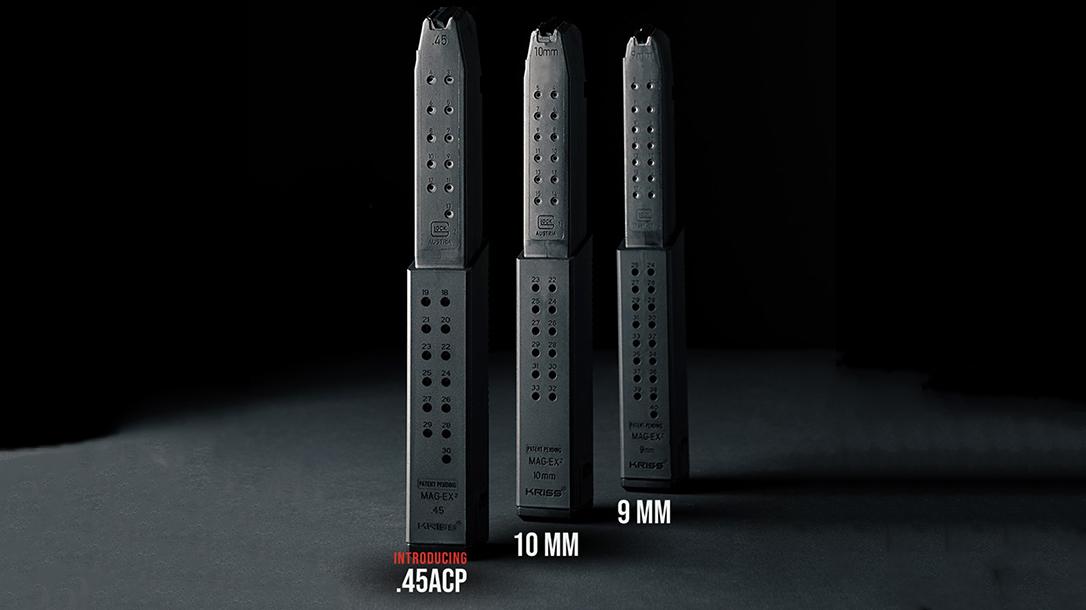 KRISS Mag-Ex2 .45 ACP, Glock Magazine extension