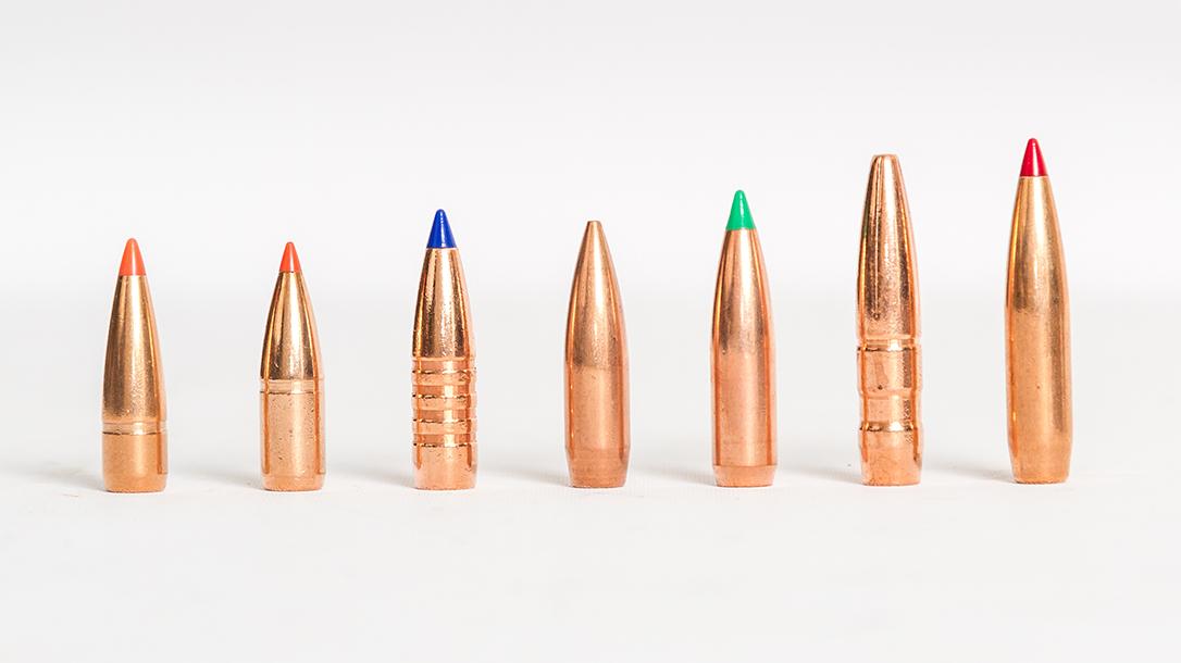 30-Caliber Bullets, ammunition, bullets