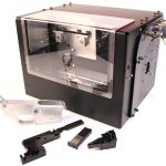 Ghost Gunner CNC machine, outside, lower receiver printing