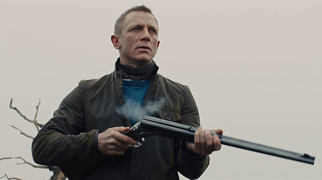 Skyfall, Anderson Wheeler Double Rifle