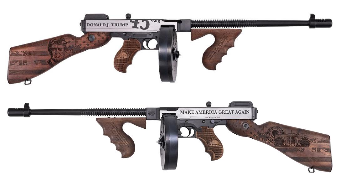 Auto-Ordnance Unveils Trump Tommy Gun, Trump Thompson