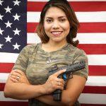 Gabby Franco, handgun, Top Shot