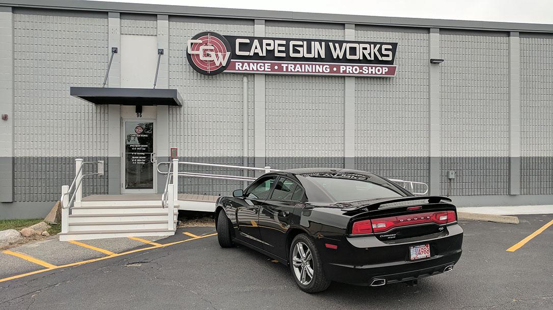 Cape Gun Works, luxury gun ranges, outside
