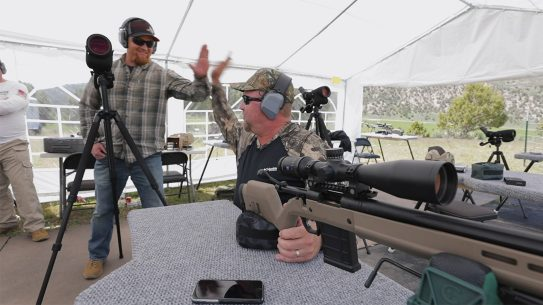 Outdoor Solutions long-range rifle training