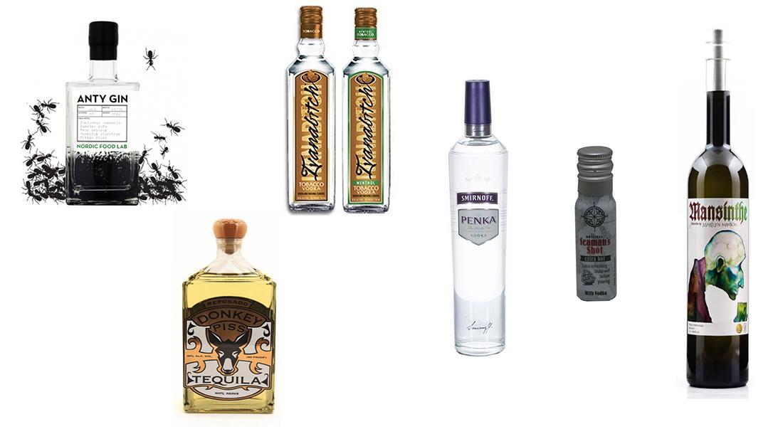 Strange Alcohol, weird liquor