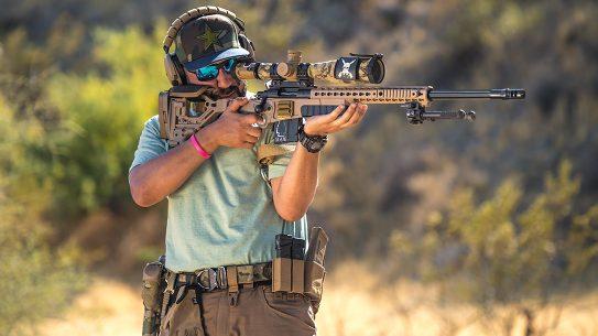 Sandmangoespewpew, Amir Bichay, rifle