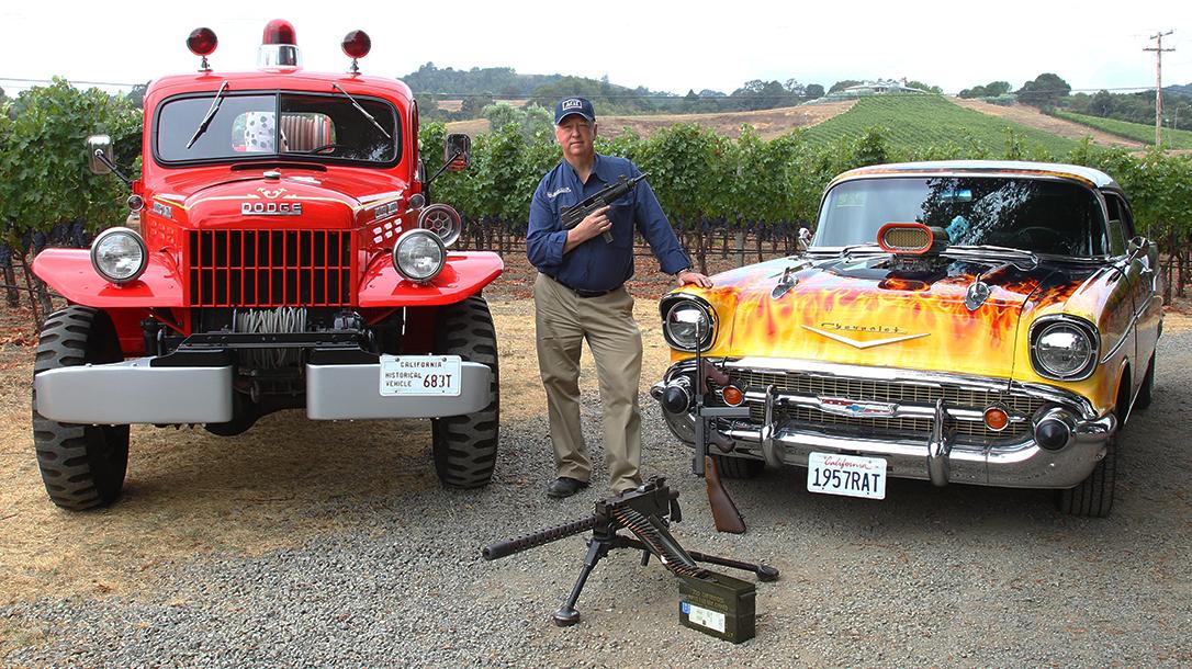 Gene Kelly, American Gunsmithing Institute, cars