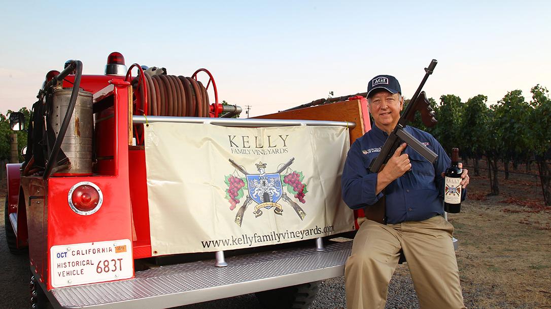 Gene Kelly, Firearms, Vineyard, wine