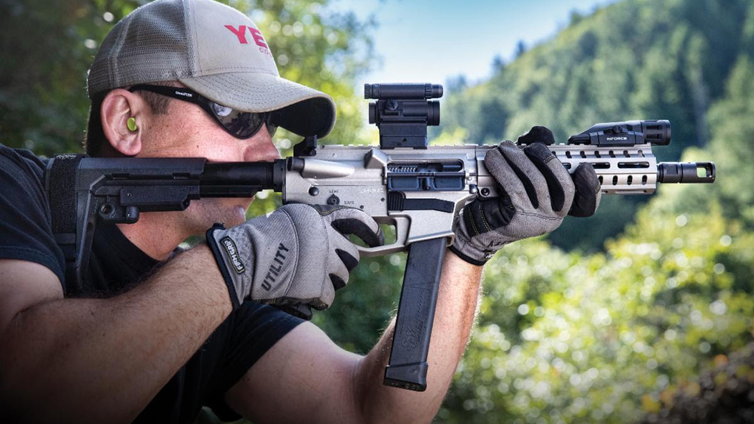 CMMG Banshee 10mm, banshee pistol, banshee rifle