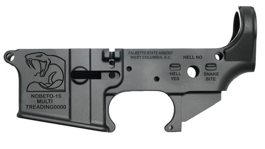 PSA No Beto Lower, AR-15 Lower Receiver, Beto O'Rourke