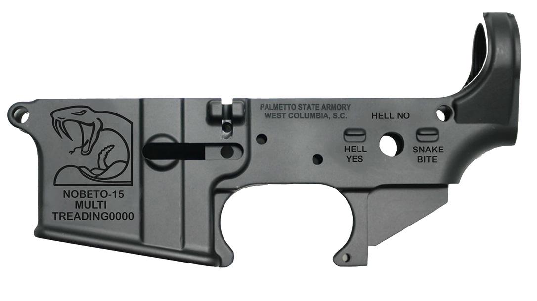 PSA No Beto Lower, AR-15 Lower Receiver, Beto O'Rourke