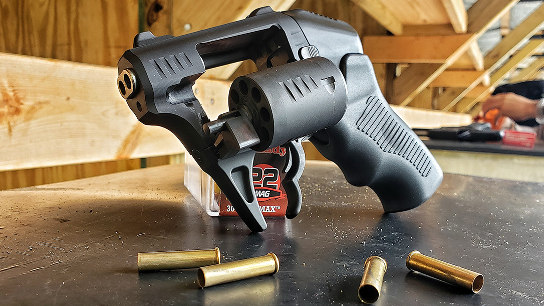 S333 Thunderstruck Test, Standard Manufacturing S333, Double-Barrel Revolver