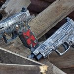 Springfield XDM 10mm OSP Pistol, custom, duo