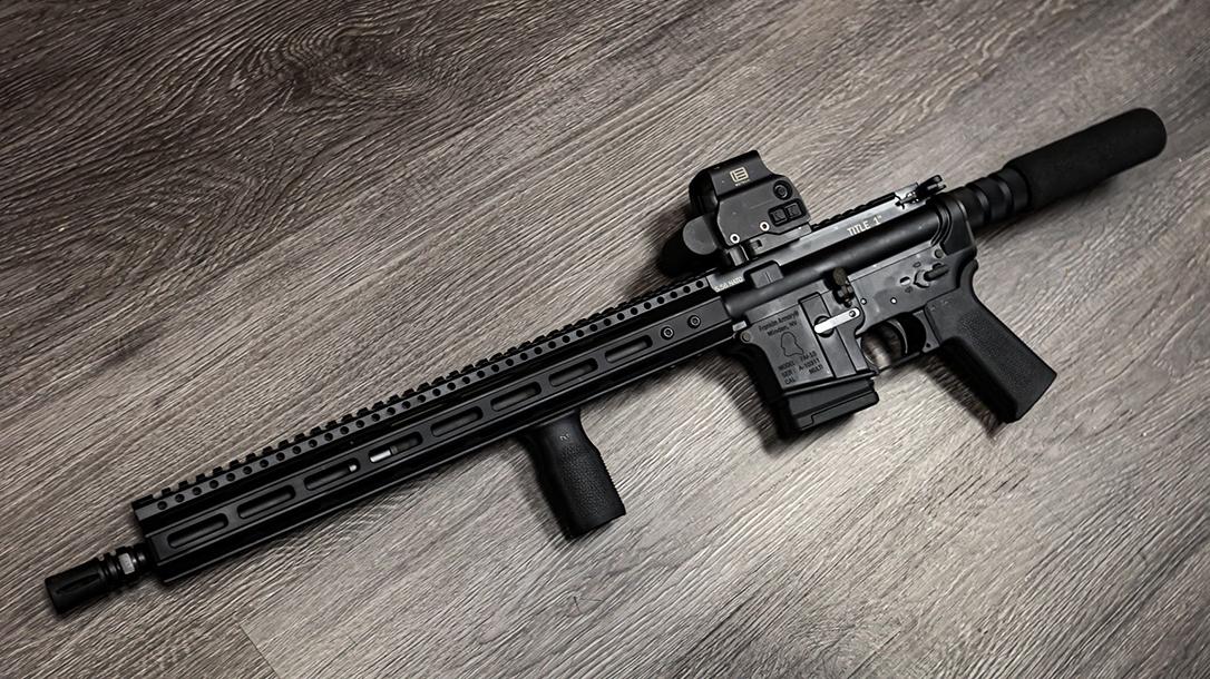 Franklin Armory Title 1 firearm, California compliant, floor