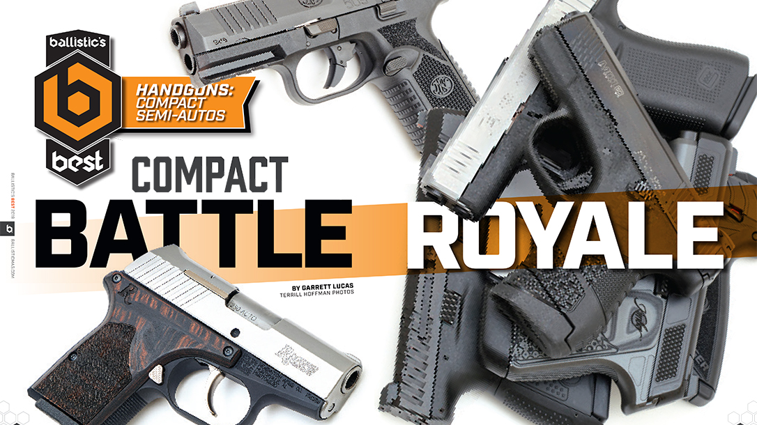 Top Compact Semi-Auto Handguns, Roundup, comparison