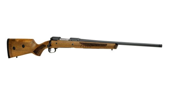 Savage 110 Classic Rifle, right angle, lead