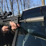 IWI Tavor 7 test, IWI Tavor 7 review, vehicle