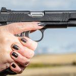 1911 aiming, pistols, athlon outdoors rendezvous 2019, range