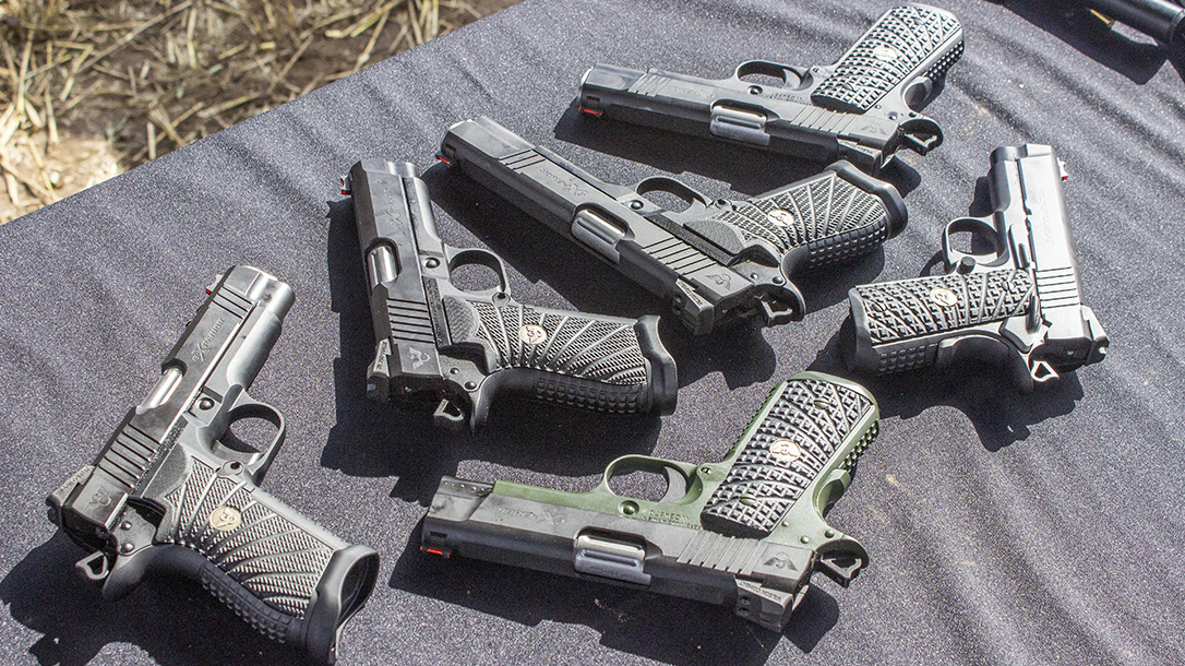 Wilson Combat eXperior Series, 1911 handguns, series, athlon outdoors rendezvous 2019, entire line