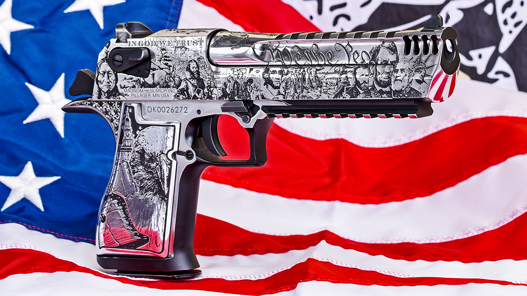 Magnum Research Deagle, Outlaw Ordnance, right