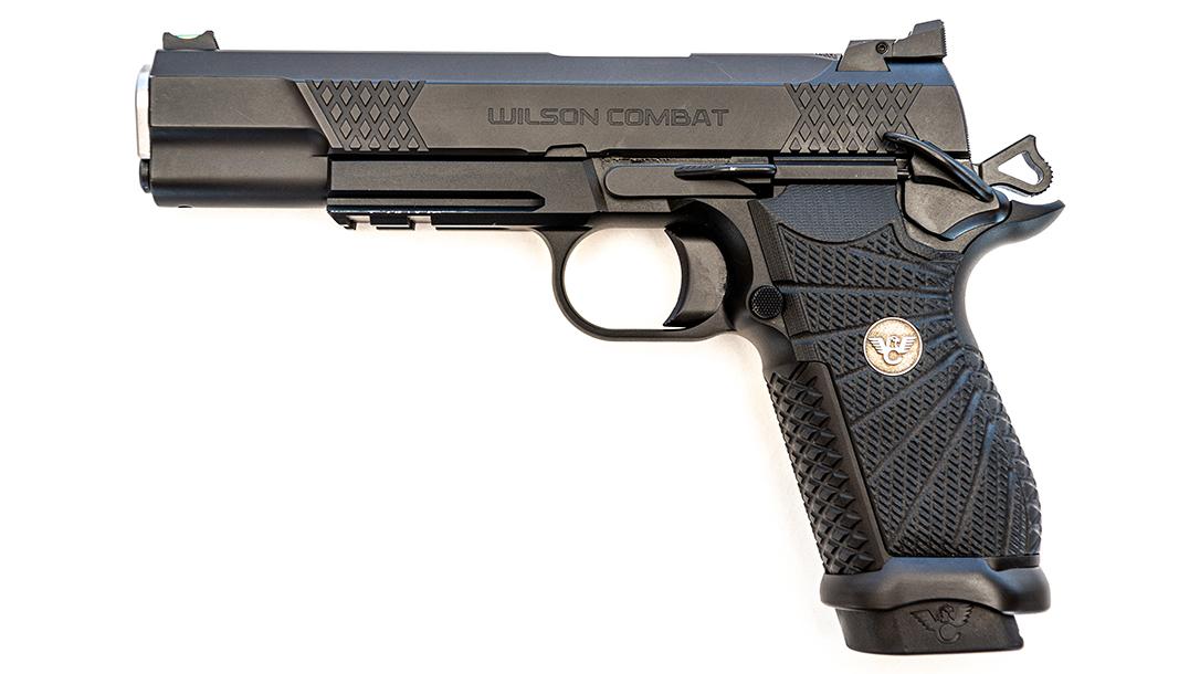 Wilson Combat EDC X9L pistol, best 1911, 9mm, left