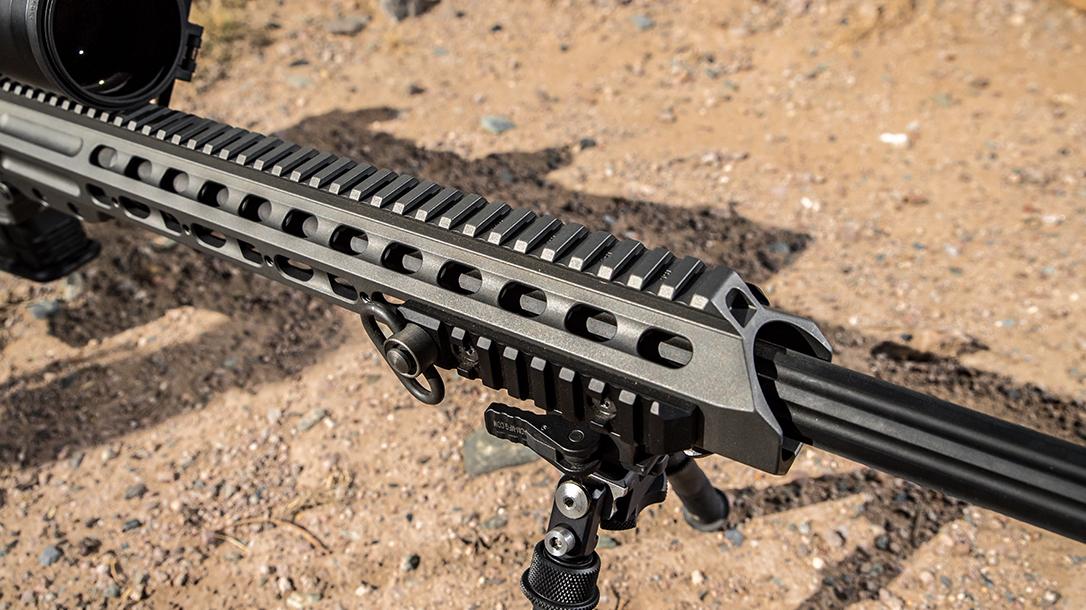 6.5 Creedmoor rifle, Ballistic Best Bolt-Action Rifle, forend