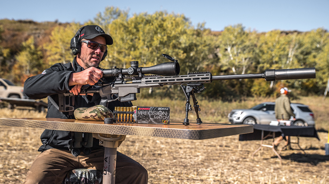 Remington 700 PCR Enhanced Precision Rifle, Athlon Outdoors Rendezvous, loading