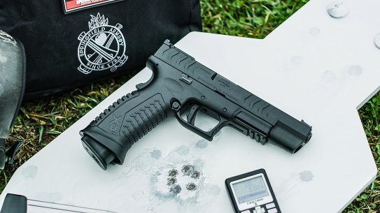 Springfield XDm Elite Precision pistol, testing