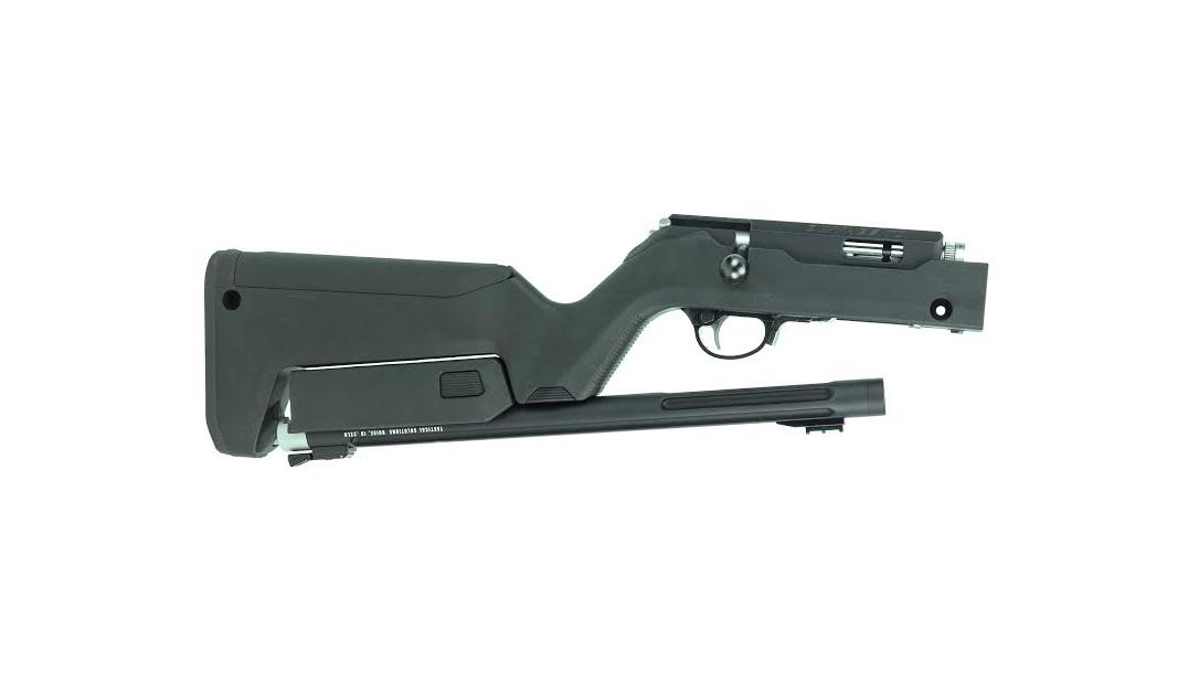 Tacsol Owyhee .22 LR Bolt-Action Takedown Rifle, broken down