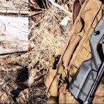 22 Bolt-Action Takedown Rifle, backpack gun