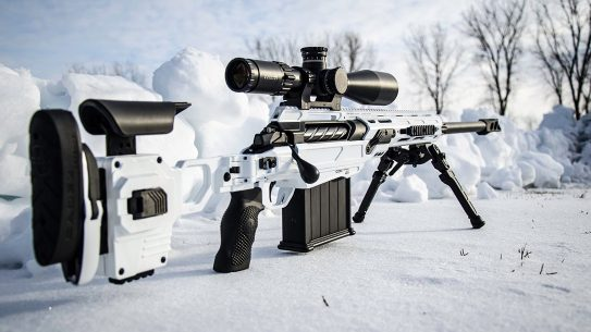 Cadex CDX-50 Tremor 50 BMG Sniper Rifle, Stormtrooper White, right