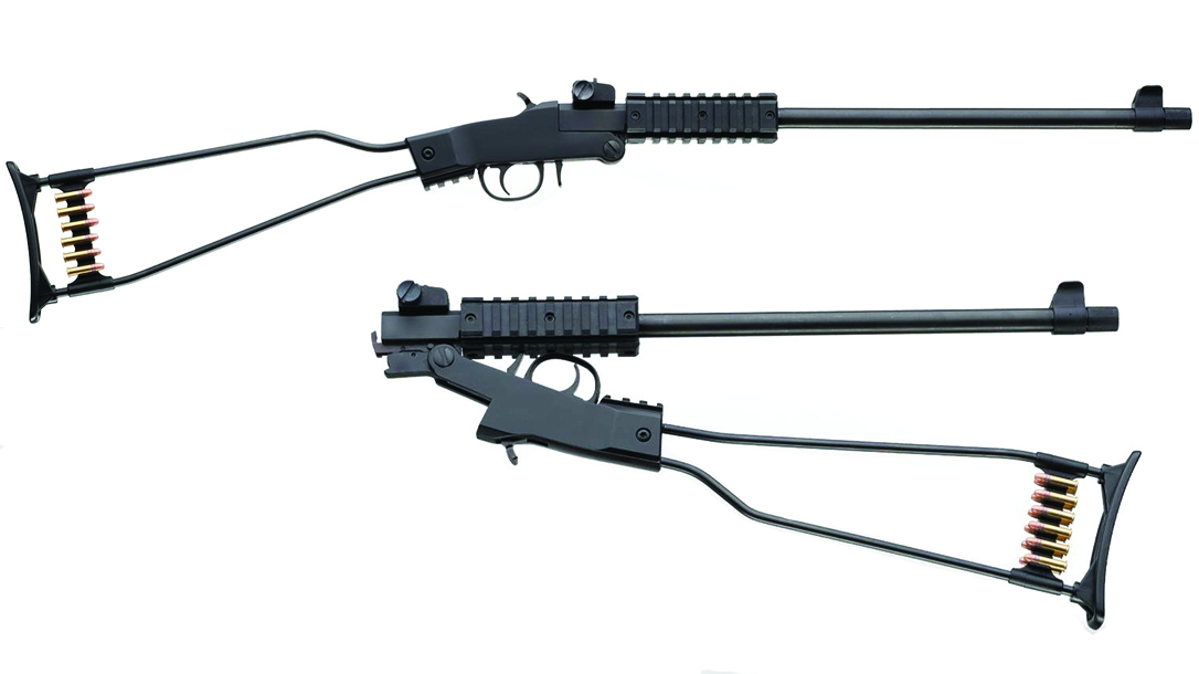 Chiappa Little Badger Rifle, survival rifle, break-open rifle, folding rifle, pack gun