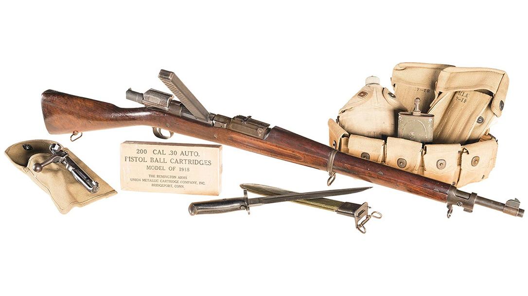 John Pedersen Rifle, Pedersen Device