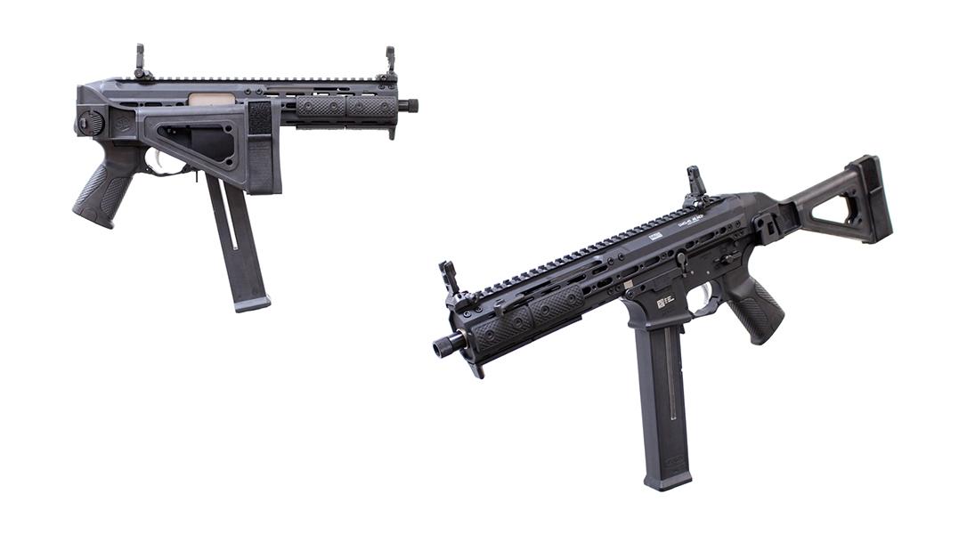 LWRC SMG 45 pistol review, LWRCI SMG-45, lead