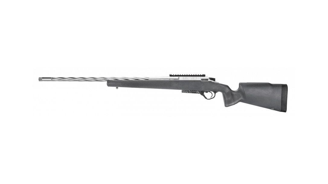 Seekins Precision hunting rifle, left