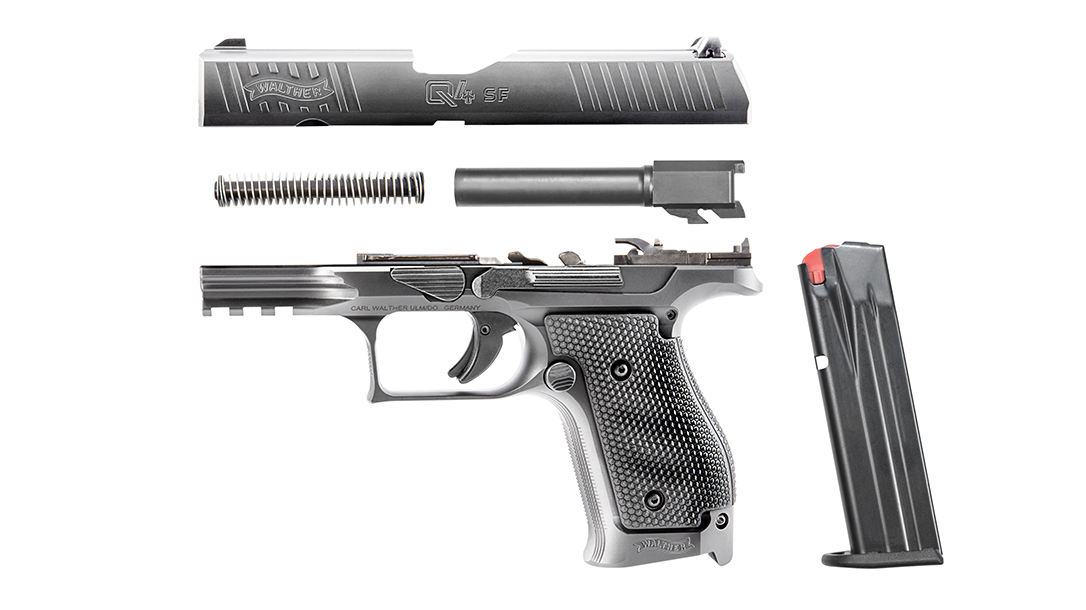 Walther Q4 Steel Frame review, internals
