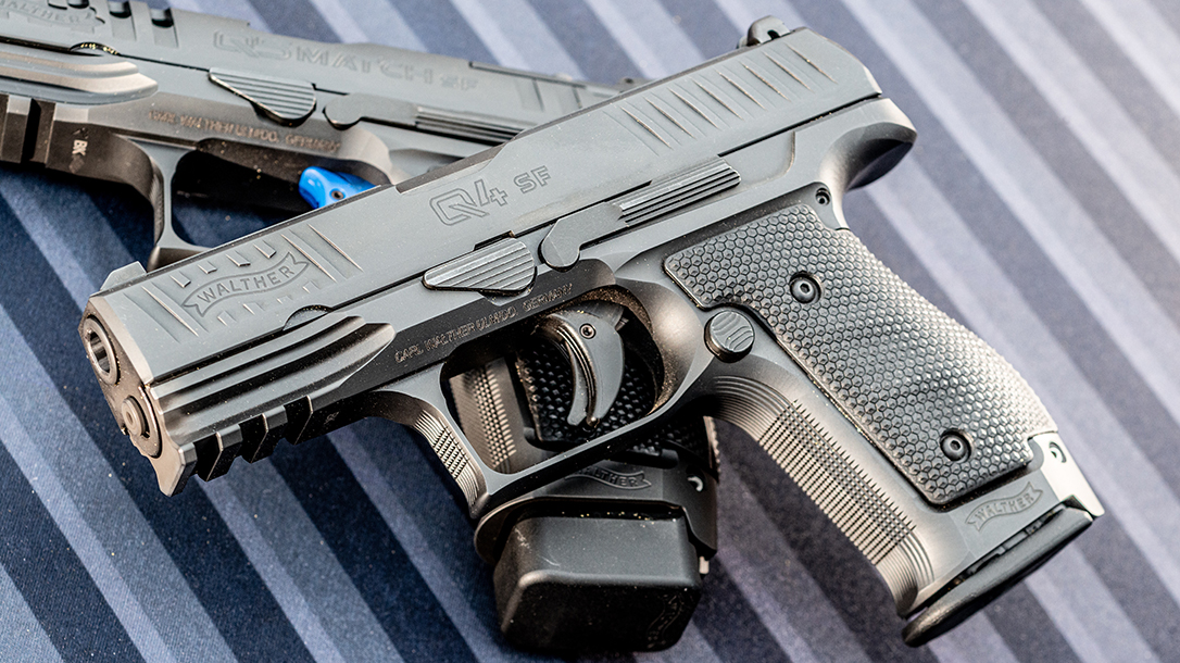Walther Q4 Steel Frame review, pistol review, concealed carry