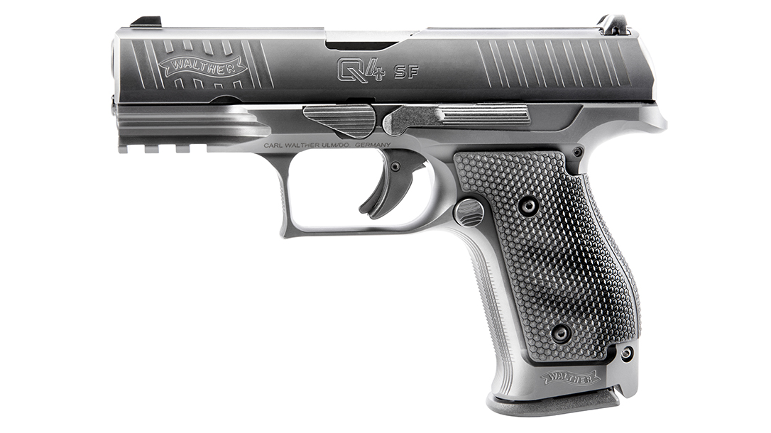 heavy carry pistol, 9mm conceal carry gun, SF, left