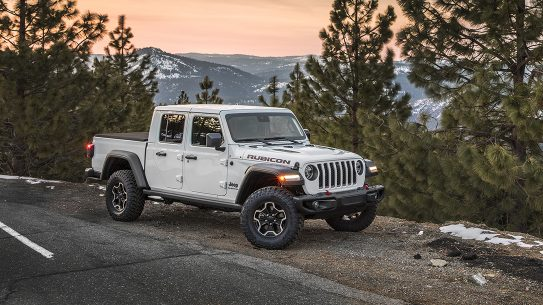 2020 Jeep Gladiator Rubicon, Jeep Gladiator Review, mountains