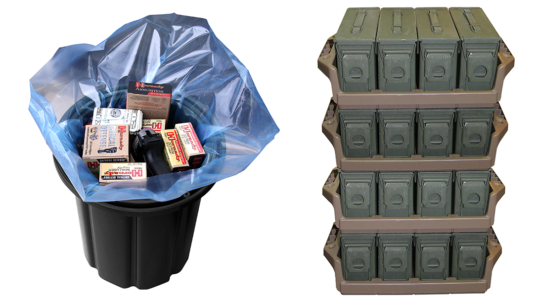 Ammo Storage, Survival Ammo, long term ammo storage, Prepper
