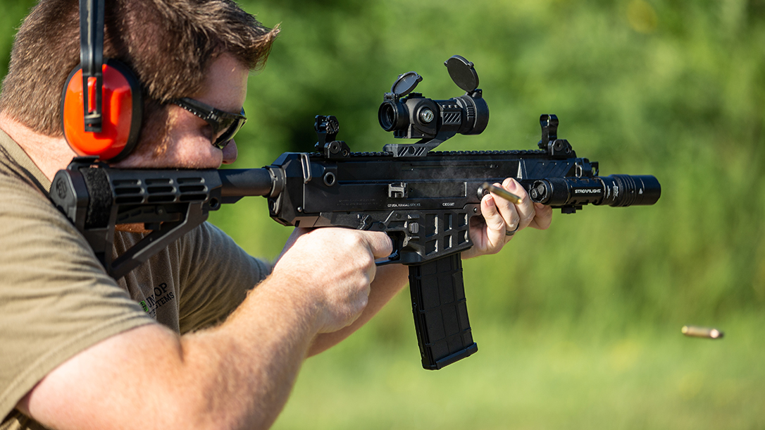 CZ Bren 2 Ms Pistol review, test