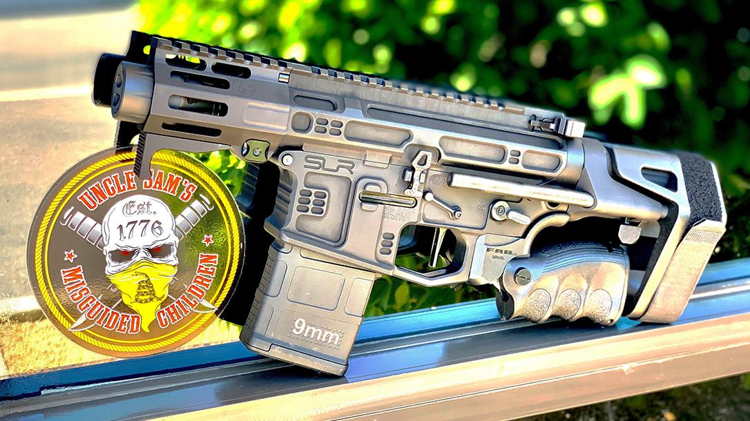 Breacher's Custom AR9, Breacher's Custom Lil Nina, AR Pistol, lead